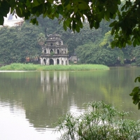 Hồ Gươm, tháng 7 năm 2013