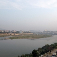 Khúc sông Hồng đầu nguồn