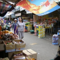 Một góc chợ Phan Thiết