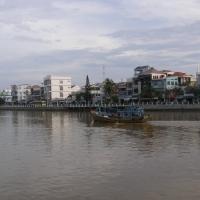 Trên sông Cà Ty, Phan Thiết