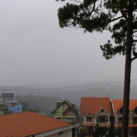 Đà Lạt trong mưa