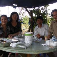 Thăm nhà thơ Hồ Ngạc Ngữ 2012