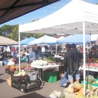 Chợ trời bán rau quả của người Hmong ở Saint Paul