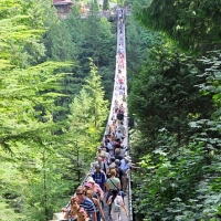 Capilano Suspension Bridge, Vancouver, August 21, 2011