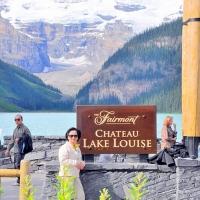 Hồ Louise Alberta Canada Tháng 8 2011