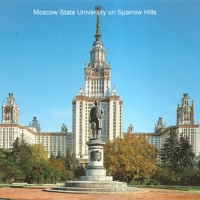 Moscow State University o Sparrow Hills