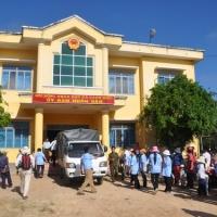 Chuẩn bị quà cứu trợ - Vân Canh Bình Định