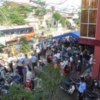 Địa điểm khám bệnh ngày 9 tháng 11, 2009: trụ sở xã An Thái.