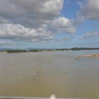 Sông Côn mùa lụt tháng 11.2009