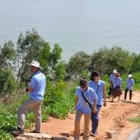 Trên đường thăm mộ Hàn Mặc Tử