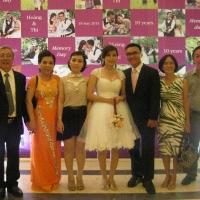 Đám Cưới con trai Ánh Nhung  - với vợ chồng Thanh Thủy - Sài Gòn 05.2013