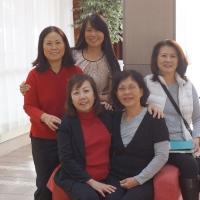 Các chị NTH 67-74 thăm Toronto Nov 14,2015