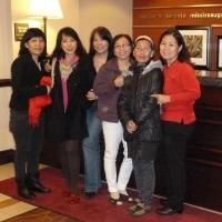 Lương,Hạnh,Dao,Tâm,Nhạn,Tuyết Toronto 14.11.2011