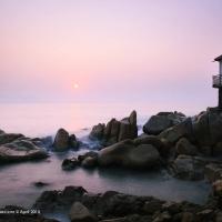 Biển Quy Nhơn - Ảnh Lê Hồ Bắc