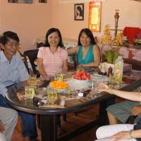 Thăm anh Huỳnh Minh Lệ  02.04.2013