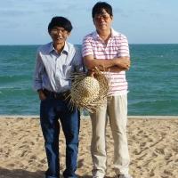 Bên biển -  Hồ Cốc 02.04.2013