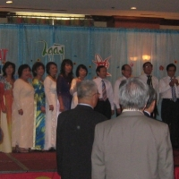 Hình Họp Mặt Cường Để - Nữ Trung Học  Tháng 6, 2011