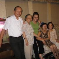 Họp mặt  tại nhà cô Thúy Nga 12.09.2012