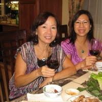 Hình chị Phương Anh cùng bạn bè