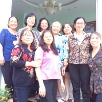Với học trò ở nhà Thảo